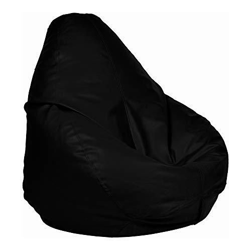 Ample Decor Large Leatherette Bean Bag...