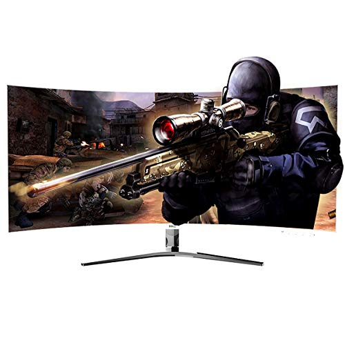 HKC 24'' Curved 1080P LED White Computer...
