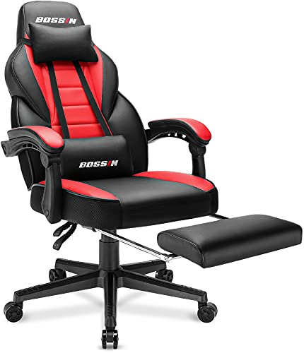 BOSSIN Racing Style Gaming Chair, 400LBS...
