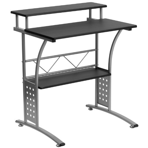Flash Furniture Clifton Black Computer...