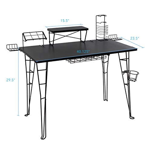 Atlantic Gaming Original Gaming Desk -...