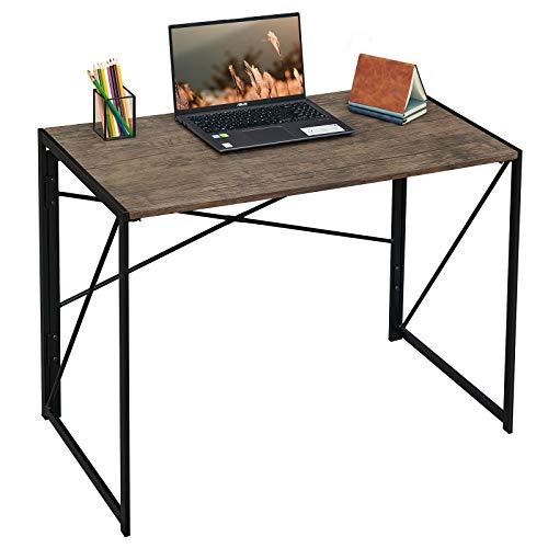 Coavas Folding Desk No Assembly...