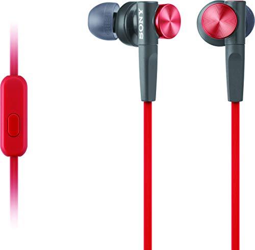 Sony MDR-XB50AP/R Extra Bass Earbud...