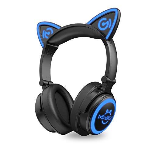 MindKoo Bluetooth Headphones, Cat Ear...