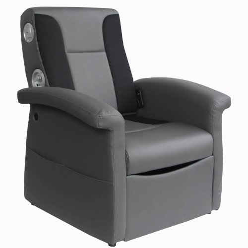 X Rocker Triple Flip 2.1 Sound Recliner...