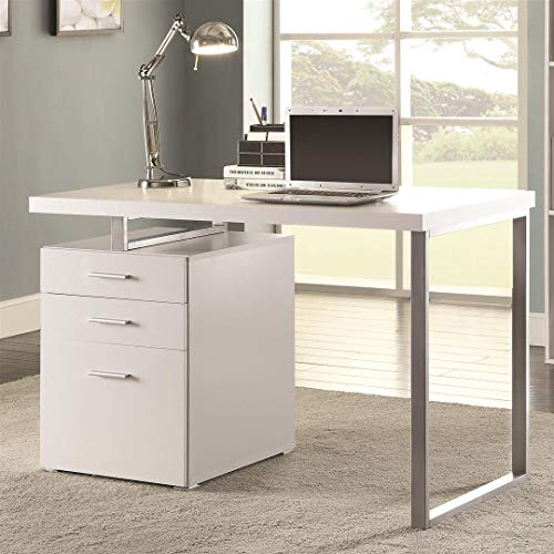 Writing Desk with File Drawer and...