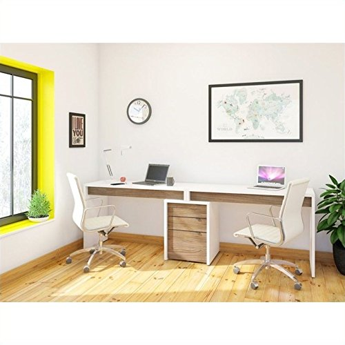 Nexera Liber-T 3 Piece Office Set in...