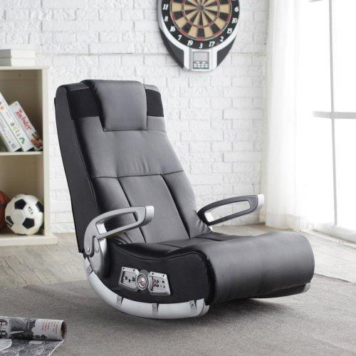 X Rocker II SE 2.1 Black Leather Floor...