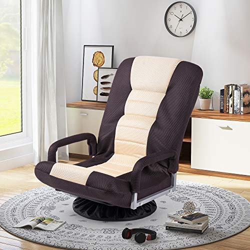 Floor Gaming Chair Adjustable 7-Position...