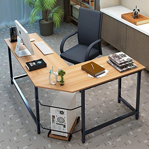 Tribesigns Modern L-Shaped Desk Corner...