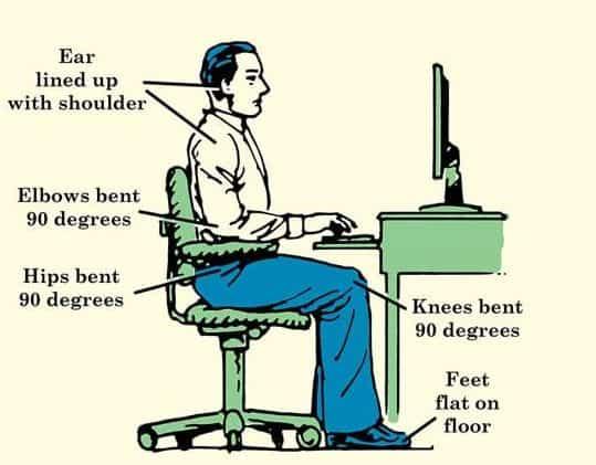 a Good Sitting Posture