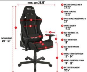 As I have just mentioned, adjustability of the chair is directly related to the comfort levels you can hope to achieve with your chair