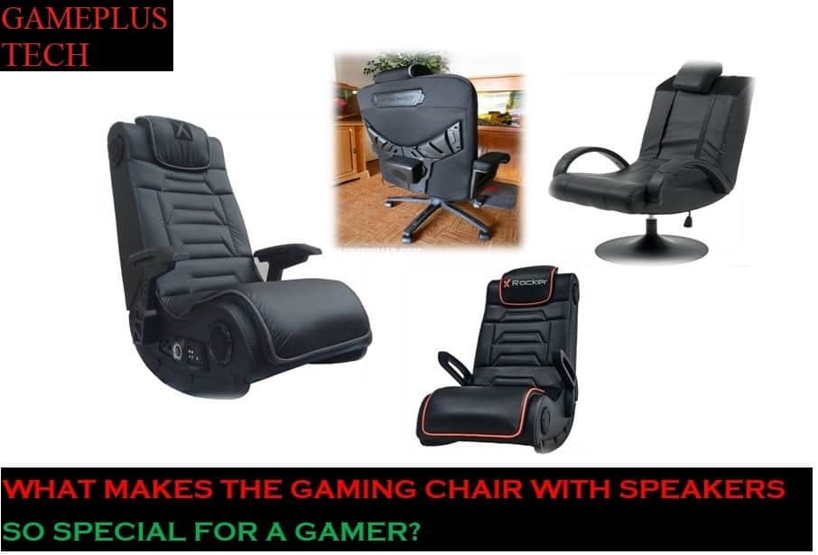 The Gaming Chair With Speakers