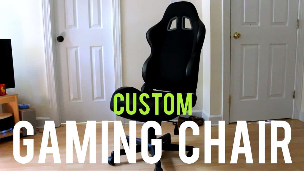 How to Build Your Own Gaming Chair
