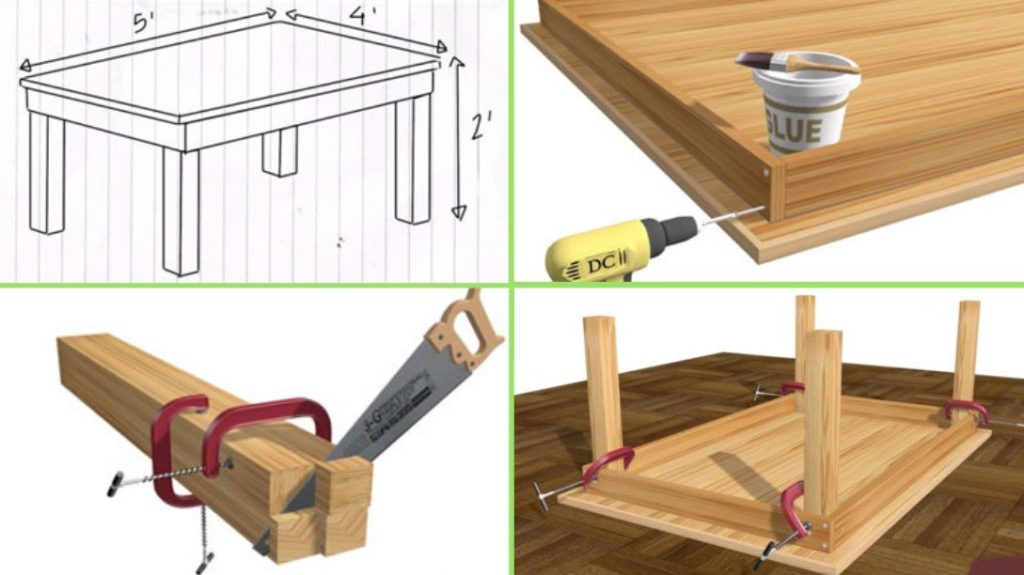 How to Build a Compact Computer Desk from Scratch