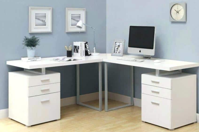 Best Black and White Corner Computer Desks