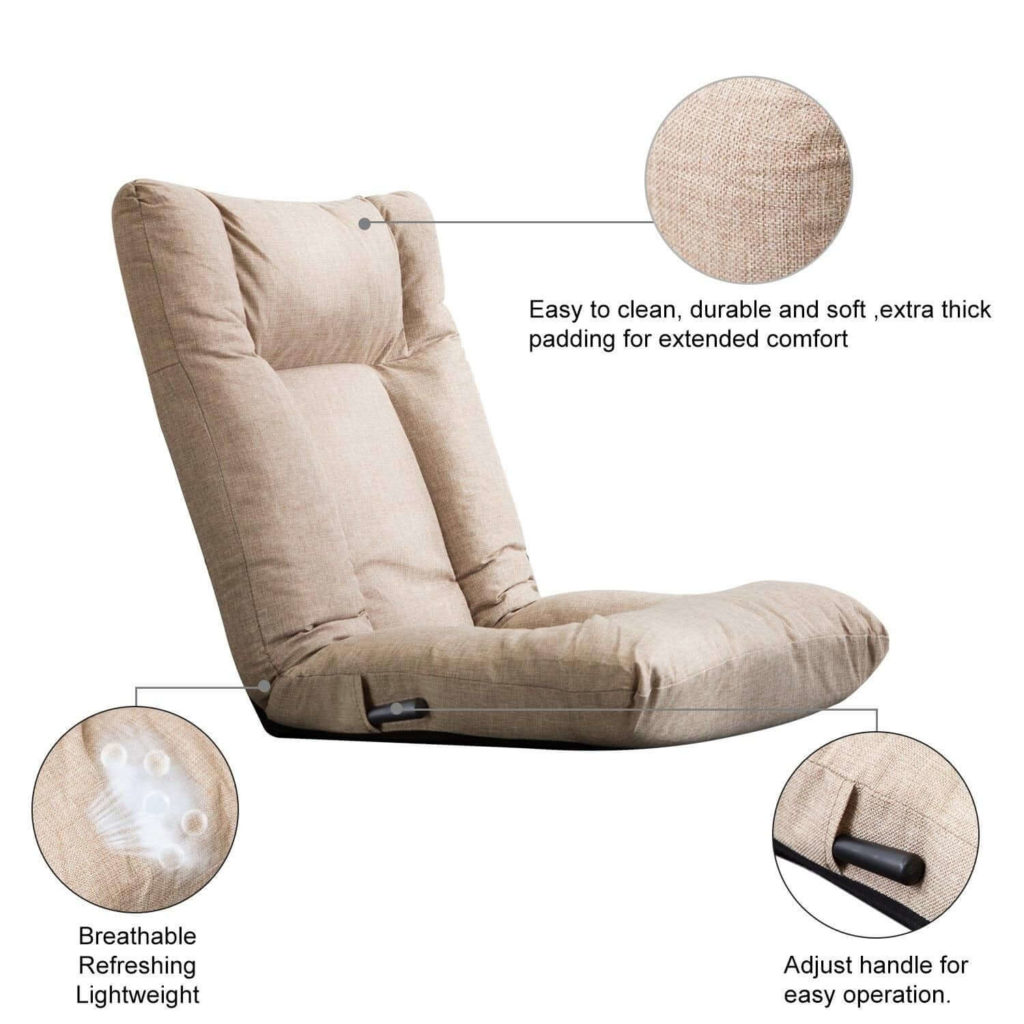 Materials of the Foldable Gaming Chair